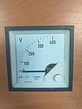 Аналоговий вольтметр EA 17N E614 400V LUMEL Польща з ПДВ