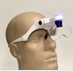 Бінокулярні лупа-окуляри зі світлодіодним підсвічуванням ТН-9203 Magnifier Китай (1x, 1,5x, 2x, 2,5x, 3,5)