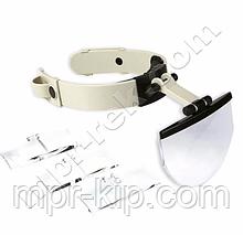 Бінокулярна лупа MG81003 (1,2 x 2,5 x 3,5 x)