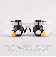 Бінокулярні окуляри з підсвічуванням 9892RD (6Х, 10X, 25X)