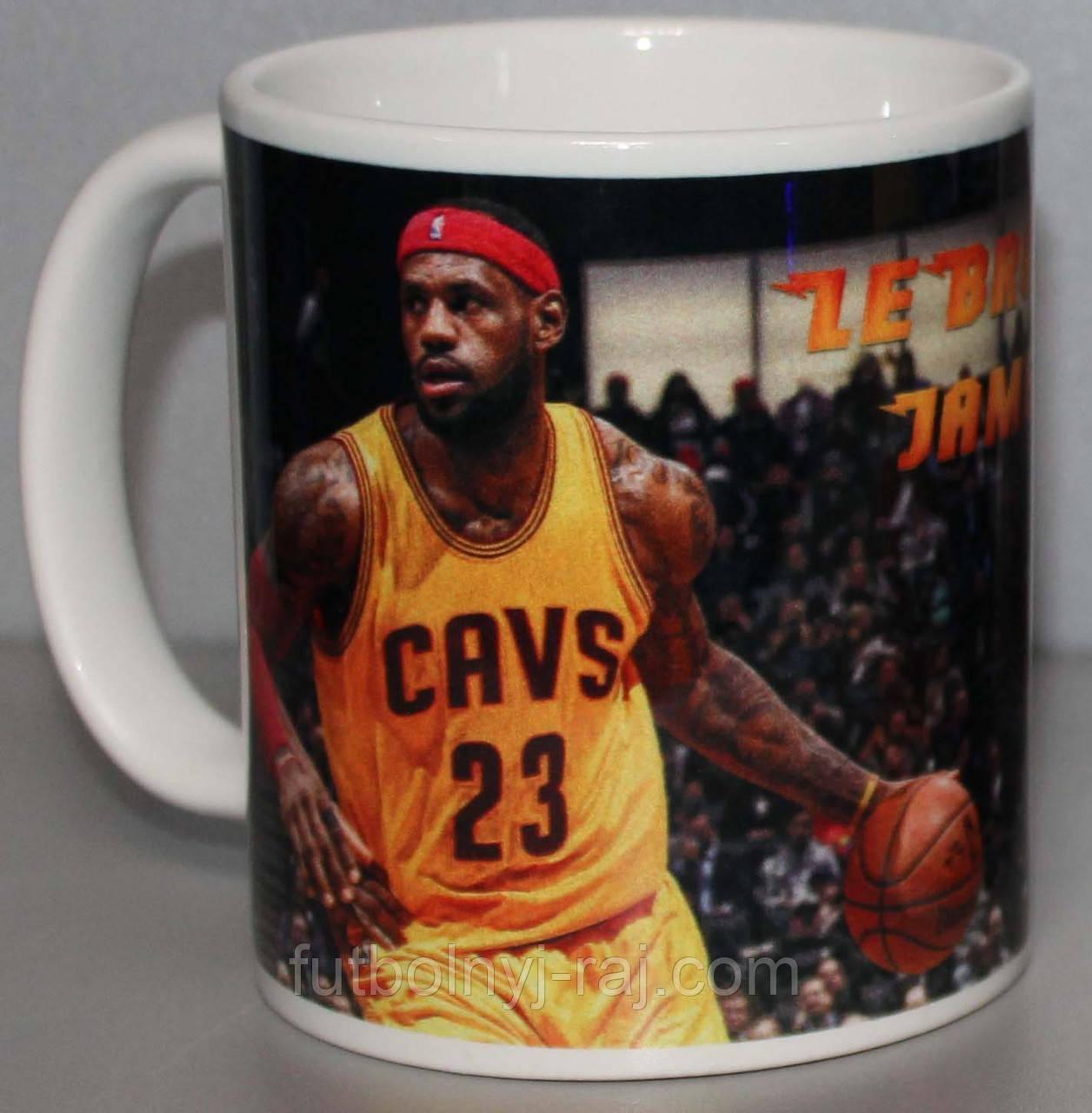 Чашка з зображенням LeBron James