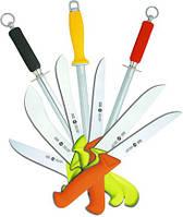 Режущий инструмент (ножи),  вспомогательный инвентарь для мясопереработки