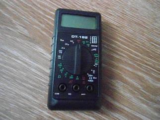 Цифровой мультиметр тестер DT- 182 с щупами и батарейкой