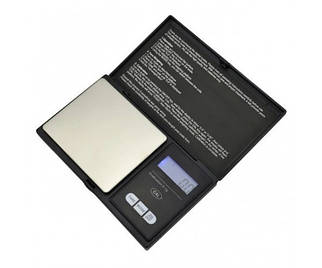 Ваги ювелірні електронні високоточні кишенькові у вигляді книжки MS 2020 0,01 200 гр з батарейками точні ваги