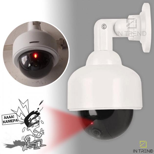 Камера спостереження муляж 2000 CAMERA DUMMY працює від батарейок прихована камера муляж