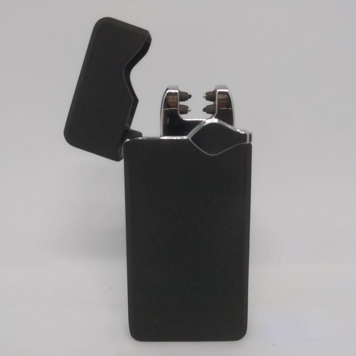 Електроімпульсна USB запальничка 315 арт.6750 в комплекті шнур для зарядки ЮСБ запальничка
