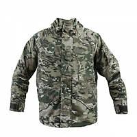Куртка Shark Skin ветро-влагозащитная с флисовой подстежкой Multicam