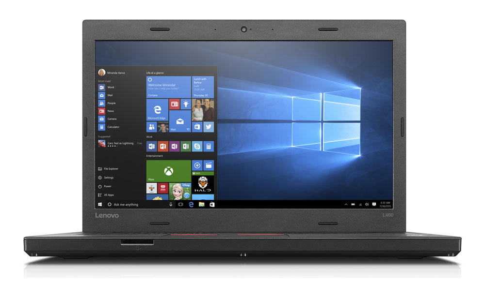 Ноутбук Lenovo ThinkPad L560-Intel Core-i5-6300U-2,50GHz-8Gb-DDR3-256Gb-HDD-W15.6-FHD-Web-(B)- Б/В