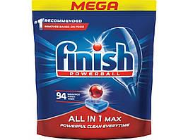 Таблетки для посудомийної машини FINISH 94шт.
