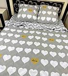 Постільна білизна бязь Сердечна любов, фото 2