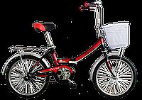 Велосипед подростковый складной Titan Десна 20″ (Black-Red)