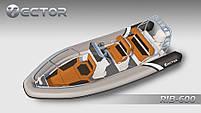 Човен Vector RIB 600 (Valmex), фото 5