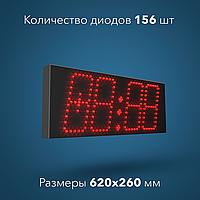 Часы-термометр светодиодные С-001