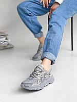 Кроссовки женские серого цвета. Стильные женские кроссовки серые., фото 1