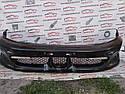 Бампер передній чорний (уцінка) MR415087 9915661 Galant 97-04r .EA Mitsubishi, фото 2