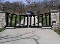 Ворота распашные автоматические