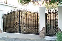 Установим распашные ворота