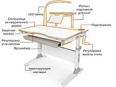 Evo-30+Onyx+лампа | Дитячі зростаючі стіл-парти й крісла для школярів, фото 3