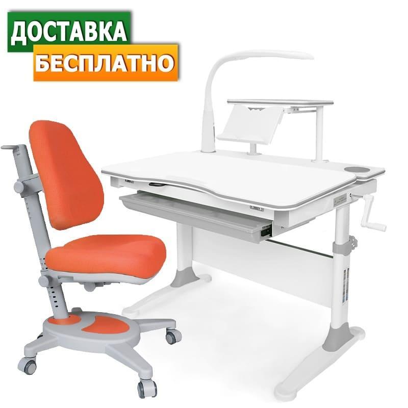 Evo-30+Onyx+лампа | Дитячі зростаючі стіл-парти й крісла для школярів