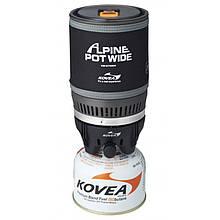 Система приготовления пищи (горелка газовая туристическая + кастрюля) Kovea Alpine Pot Wide KB-0703W