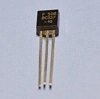 Транзистор биполярный BC337-40  TO-92  FSC