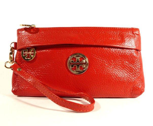 Клатч - гаманець жіночий натуральна шкіра Tory Burch
