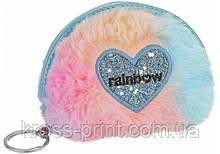 Брелок-кошелек пушистый Rainbow