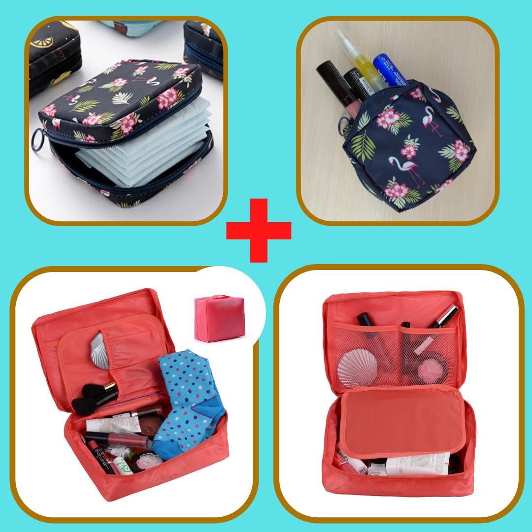 Комплект косметичка + органайзер для гігієнічних засобів (ОКД-13+ОКД-16-12)