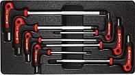 Шестигранник угловой с ручкой набор, 7 предметов T22904 AmPro, фото 1