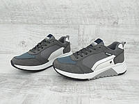 Модные мужские демисезонные кроссовки в спортивном стиле