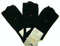 Высокие носки черного цвета для мужчин