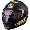 Мотошолом, шолом для мотоцикла Project SP Sport M-601-1 розмір XL 61-62 чорний матовий
