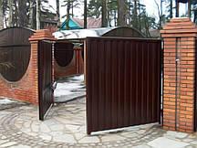 Автоматические распашные ворота привод