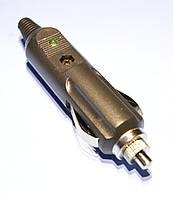 Штекер прикуривателя кабельный с предохранителем и светодиодом  WTY0147