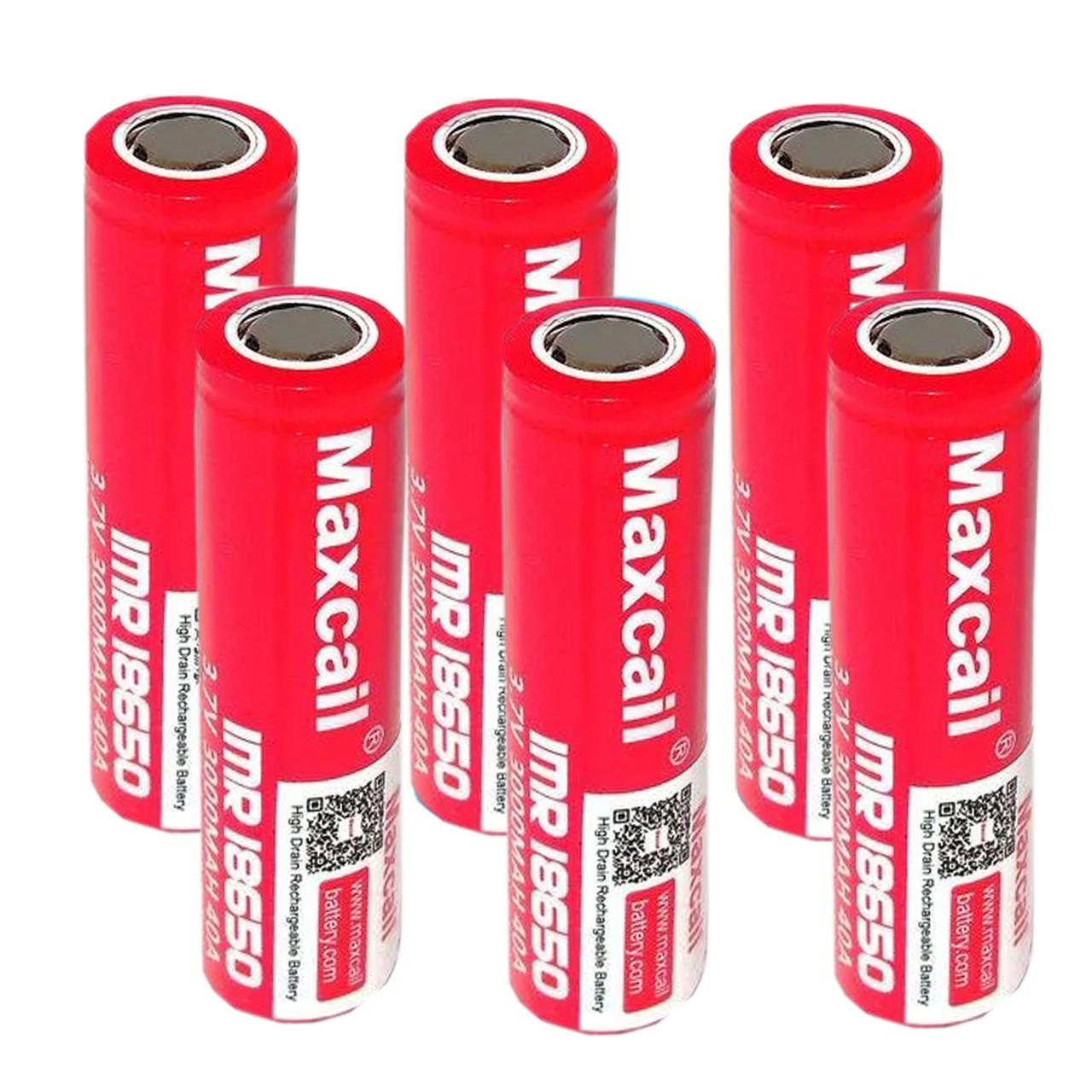 Комплект аккумуляторных батарей Литий 6 шт Ионная 18650 Pointed Efest BATTERY