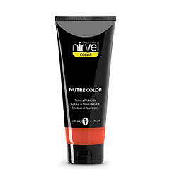 Nirvel Nutre сolor. Пігмент прямої дії з маслами жожоба, 200 мл Кораловий.