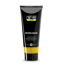 Nirvel Nutre сolor. Пігмент прямої дії з маслами жожоба, 200 мл Жовтий.