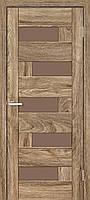 Двери межкомнатные Rino 16 G бронза NL дуб Ориндж