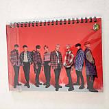 """Набір """"ATEEZ"""": щоденник, пенал, скетчбук, фото 5"""