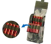 Підсумок Kosibate Molle для дробовика на 25 патронів камуфляж AFG