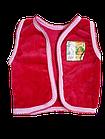 Дитяча Жилетка махрова на кнопках розмір 52. Від 2шт по 34грн, фото 2