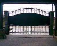 Эскизы распашных ворот