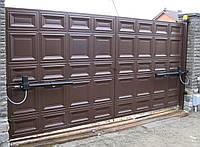 Распашные ворота эскизы