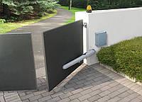 Установка автоматики распашных ворот