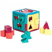 Сортер Умный куб (12 форм), Battat (BT2404Z)