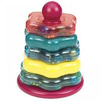 Цветная пирамидка (7 предметов), Battat (BT2407Z)