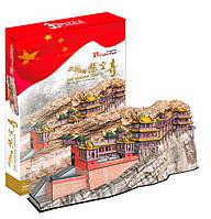 Трехмерная головоломка-конструктор Висячий монастырь Сюанькун-сы, CubicFun (MC204h)