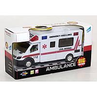 Машинка инерционная «Скорая помощь» - JL81022