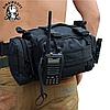 Рюкзак тактичний Molle M-03 6 л 35см х 18см х 10см / Військова сумка, фото 5