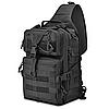 Рюкзак тактичний M04 20 л / Чоловіча сумка через плече, фото 2